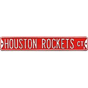 Authentic Street Signs Houston Rockets Court Sign