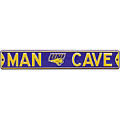 Authentic Street Signs Northern Iowa Panthers 'Man Cave' Street Sign