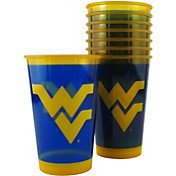 Boelter West Virginia Mountaineers Souvenir 20oz Plastic Cup 8-Pack