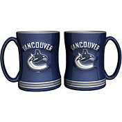 Boelter Vancouver Canucks Relief 14oz Coffee Mug 2-Pack