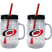 Boelter Carolina Hurricanes 20oz Handled Straw Tumbler 2-Pack