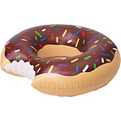 Big Mouth Pink Frosted Donut Pool Float