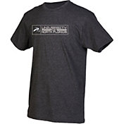 boxercraft Men's North Florida Ospreys Grey Just for You Crew Block Wordmark and Logo T-Shirt