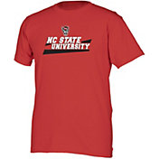 boxercraft Youth NC State Wolfpack Red Just for You Crew Wordmark and Logo T-Shirt