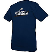 boxercraft Youth Navy Midshipmen Just for You Crew Wordmark and Logo Navy T-Shirt