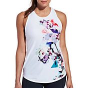 CALIA by Carrie Underwood Women's Move Flowy Strappy Printed Tank Top
