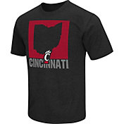 Colosseum Athletics Men's Cincinnati Bearcats Red State of the Union T-Shirt