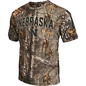 Colosseum Athletics Men's Nebraska Cornhuskers Camo Brow Tine T-Shirt