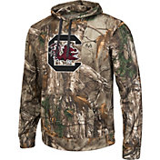 Colosseum Athletics Men's South Carolina Gamecocks Camo Breech Pullover Hoodie