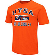 Colosseum Men's UT San Antonio Roadrunners Orange Dual-Blend T-Shirt