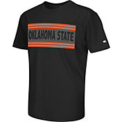 Colosseum Athletics Youth Oklahoma State Cowboys Silver Bar Black T-Shirt