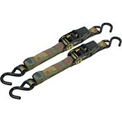 Cargoloc 8' S-Hook Camo Ratchet Tie Downs – 2 Pack