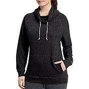 Champion Women's Plus Size French Terry Funnel Neck Sweatshirt