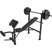 Competitor OPP Weight Bench and 80 lb. Weight Set