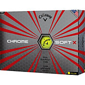 Callaway Chrome Soft X Yellow Golf Balls - Prior Generation