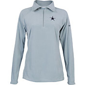 Dallas Cowboys Merchandising Men's Glacial Quarter-Zip Pullover