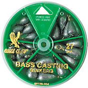 Eagle Claw Bass Casting Sinker Assortment - 27 Piece