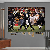 Fathead Drew Brees #9 New Orleans Saints Mural