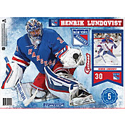 Fathead New York Rangers Henrick Lundqvist Player Wall Decal
