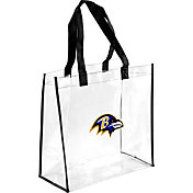Forever Collectibles Baltimore Ravens Clear Reusable Bag