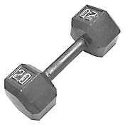 Fitness Gear 20 lb Cast Hex Dumbbell