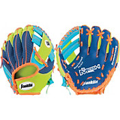 "Franklin 9.5"" T-Ball Meshtek Series Glove"