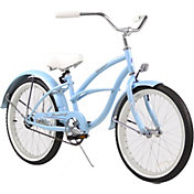 Firmstrong Girls' 20'' Urban Girl Single Speed Beach Cruiser Bike
