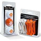 Team Golf Clemson Tigers Golf Ball and Tee Set