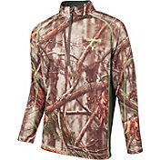 Huntworth Men's Quarter Zip Performance Fleece Hunting Pullover