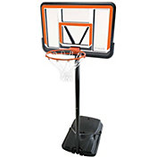 "Lifetime 44"" Polycarbonate Portable Basketball Hoop"