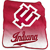 Indiana Hoosiers Raschel Throw