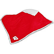 Wisconsin Badgers Sherpa Throw