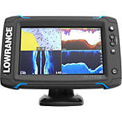 Lowrance Elite-7 Ti Fish Finder/Chartplotter Combo with Mid/High/DownScan