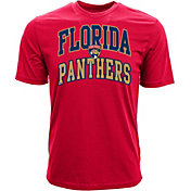 Levelwear Men's Florida Panthers Performance Arch Red T-Shirt