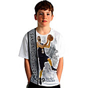 Levelwear Youth San Antonio Spurs Tony Parker Breakaway White T-Shirt