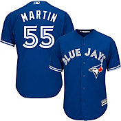 Majestic Men's Replica Toronto Blue Jays Russell Martin #55 Cool Base Alternate Royal Jersey