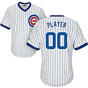 Majestic Men's Full Roster Cool Base Cooperstown Replica Chicago Cubs 1968-69 White Jersey