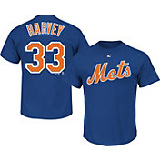 Majestic Triple Peak Men's New York Mets Matt Harvey Royal T-Shirt