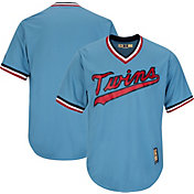 Majestic Men's Replica Minnesota Twins Cool Base Light Blue Cooperstown Jersey