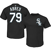 Majestic Triple Peak Men's Chicago White Sox Jose Abreu Black T-Shirt