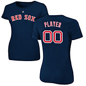 Majestic Women's Full Roster Boston Red Sox Navy T-Shirt