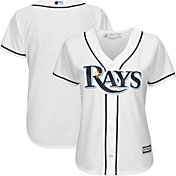 Majestic Women's Replica Tampa Bay Rays Cool Base Home White Jersey