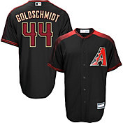 Youth Replica Arizona Diamondbacks Paul Goldschmidt #44 Alternate Black Jersey