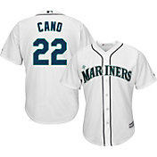 Majestic Youth Replica Seattle Mariners Robinson Cano #22 Cool Base Home White Jersey
