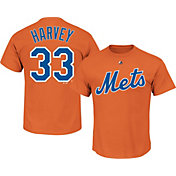 Majestic Youth New York Mets Matt Harvey #33 Orange T-Shirt