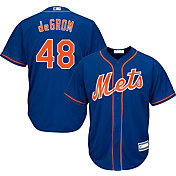 Majestic Youth Replica New York Mets Jacob deGrom #48 Cool Base Alternate Royal Jersey