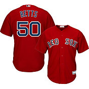 Youth Replica Boston Red Sox Mookie Betts #50 Alternate Red Jersey