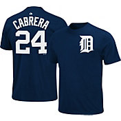 Majestic Youth Detroit Tigers Miguel Cabrera #24 Navy T-Shirt