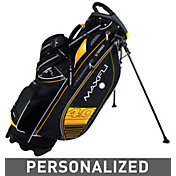 Maxfli U/Series 4.0 Personalized Stand Bag – Black/Yellow