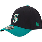 New Era Men's Seattle Mariners 39Thirty Alternate Classic Navy Stretch Fit Hat